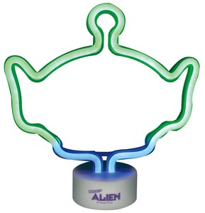 Disney Neon Light Alien