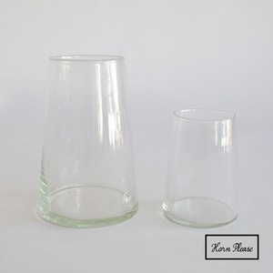 Glass Blow Line Flower Vase Secure