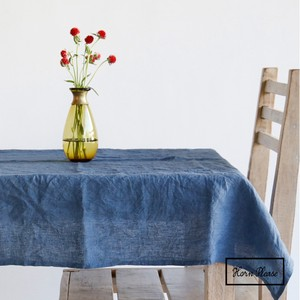Tablecloth Red Linen