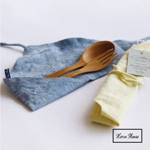 Cutlery Cover Frost Chambray Linen