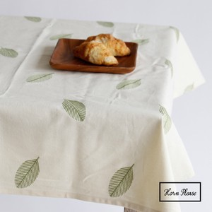 Tablecloth LEAF Embroidery