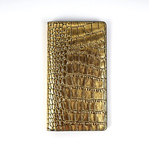 Ride Notebook Type Case Gold Gold Black Diary