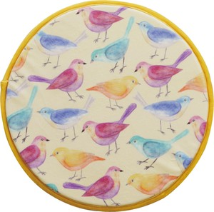 Print Chair Pad BIRD