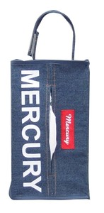 Mercury Denim Tissue Box Cover Denim
