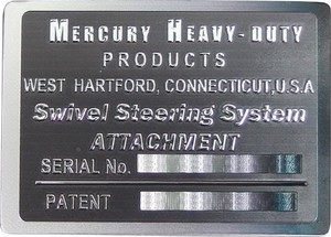 Mercury Metal Magnet Black