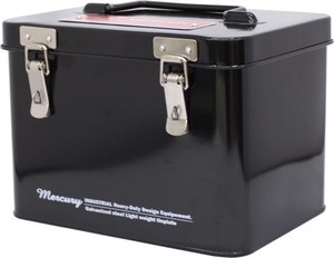 Mercury Square Tool Box Black
