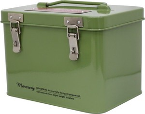 Mercury Square Tool Box Khaki