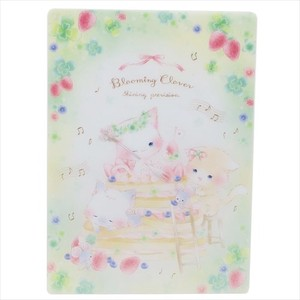 Stationery plastic sheet clover Stationery plastic sheet