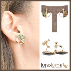 Earring Shell Ladies Rack Aurora Gold Combi