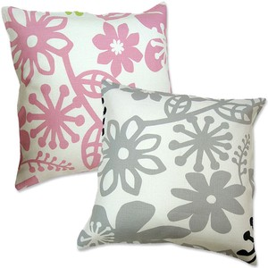 Cushion Cover Floral Pattern Pop