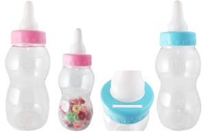 Milk Bottle Gift Box baby bottle Present Piggy Bank Baby Size S