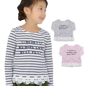 S/S Toddler Dyeing Border Long Sleeve T-shirt