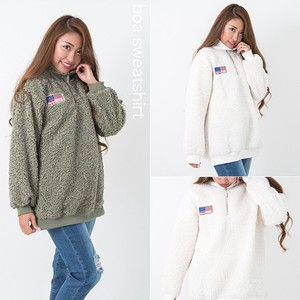 Stars And Stripes Patch Sweatshirt
