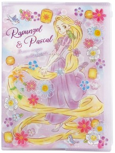 Disney Dream Notebook Attached Plastic Folder Rapunzel