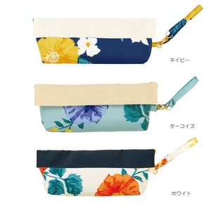 S/S Compact Pouch Bright Flora