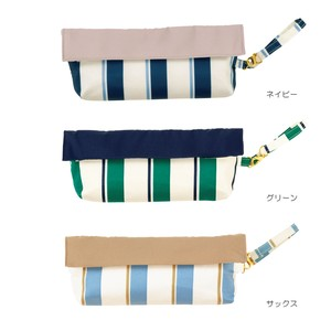 S/S Compact Pouch Bold Stripe