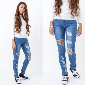 Ladies Damage Denim