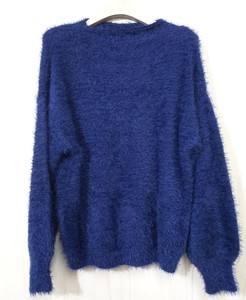 Angola Mock Neck Knitted Pullover