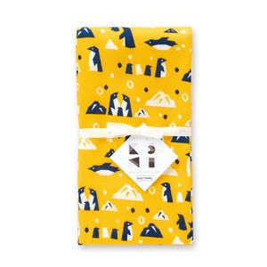 Penguin Gauze Face Towel