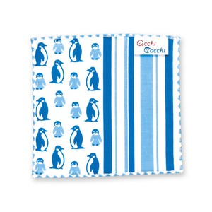 Penguin Name Attached Tag Handkerchief