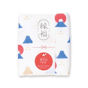 Mt. Fuji Gauze Face Towel Towel Made in Japan
