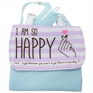 Pouch Pouch Happy Shoulder Attached Pocket Pouch Pastel Series