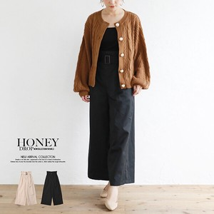 High-waisted wide pants [2019NewItem] A/W S/S