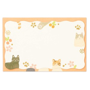 Envelope Message Card Cat