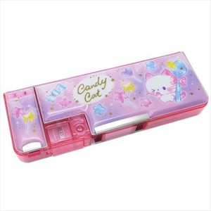 for Kids Pencil Case Candy Cat Both Sides soft Pencil Case