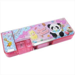 for Kids Pencil Case Panda Bear Soft Toy Both Sides soft Pencil Case