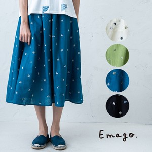 S/S Fruit Embroidery Skirt
