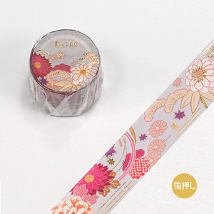 Washi Tape Foil Stamping Story Flower Season