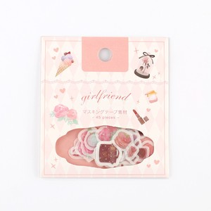 Flake SEAL Girl Friend Washi Tape Material