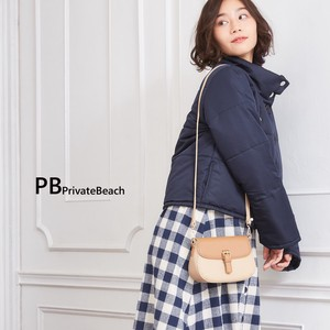 Bi-Color Pouch Shoulder Bag