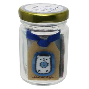 Sticky Note In the Bottle Husen Set Animal Life