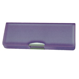 Stationery Brush Case Pearl Purple Pencil Case Admission