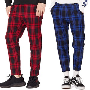 S/S Men's Checkered Ankle Pants