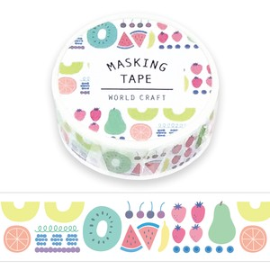 Washi Tape Fruit Marche Wrapping Decoration Notebook Washi Tape Gift