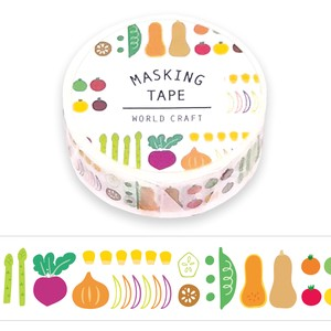 Washi Tape Farmers Marche Wrapping Decoration Washi Tape Gift