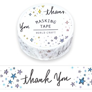 Washi Tape Wrapping Decoration Gift Thank You Christmas