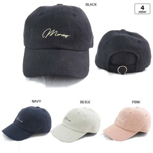 [2019NewItem] Embroidery circle clasp Cap