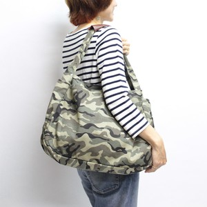 Earth Color Canvas Shoulder Camouflage Shoulder Bag Unisex
