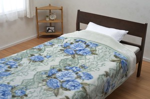 A/W Items Kyoto Washable 2 Pcs Matching Blanket Single