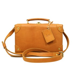 Leather Box Shoulder Bag