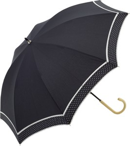 S/S All Weather Umbrella Stick Umbrella pin Dot Double Lace