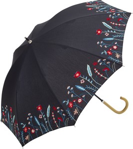 S/S All Weather Umbrella Stick Umbrella Flower Broom