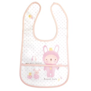 Baby Costume Meal Bib Pink