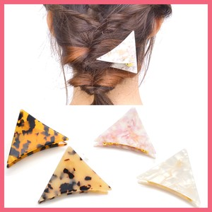 Marble Triangle Hair Ban Clip