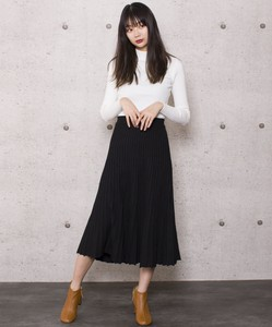 Knitted Flare Skirt