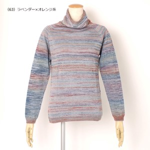 Mohair Turtle Neck Pullover Early Spring
